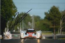 Darren Turner Hand Signed 9x6 Photo Aston Martin Le Mans 3.