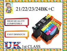 6 COMPATIBILE Dell 21/22/23/24 BK+C CARTUCCIA PER Dell NON ORIGINALE