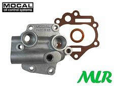MOCAL PC1 LAND RANGE ROVER V8 OIL COOLER / REMOTE FILTER OIL PUMP COVER PLATE SS