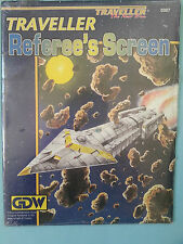 GDW TRAVELLER THE NEW ERA TRAVELLER REFEREE'S SCREEN MINT FACTORY SEALED