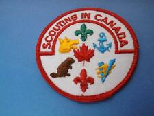BOY SCOUTS SCOUTING IN CANADA BEAVER WOLF  BEAVERS  PATCH COLLECTOR BADGE