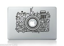 "Camera Vinyl Apple Macbook Pro Air 13"" Inch Sticker Decal Skin Cover For Laptop"