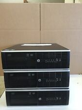 HP 8200 ELITE SFF Quad Core i5-2500 3.3GHz 4GB 250GB DVDRW Windows 7 Pro