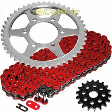 Red O-Ring Drive Chain & Sprockets Kit Fits KAWASAKI ZX1200 Ninja ZX12R 00-06