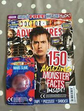 DOCTOR WHO ADVENTURES MAGAZINE Issue 150 With Free Gifts - Free Postage
