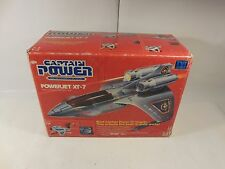 SEALED VINTAGE CAPTAIN POWER & SOLDIERS OF THE FUTURE POWERJET XT-7 MATTEL 1987