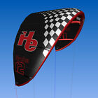 New 2015 12m2, flyHelium Aruba kiteboarding Kite (Black). Ideal for all levels.