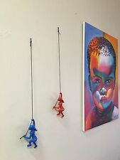 New Orange Climbing Man/GIRL wall art BIG decor! Buy 4 Get 1 Free ! Exclusive