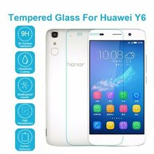 100% Genuine Tempered Glass 9H Screen Protector For Huawei Y6