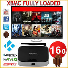 16.0 Fully Loaded Android 4.4 Smart 2+16GB TV BOX MINI PC Free Sports Movie USA