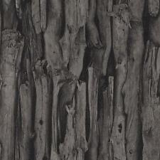 RASCH TREE BARK PATTERN REALISTIC FAUX EFFECT PHOTOGRAPHIC MURAL WALLPAPER