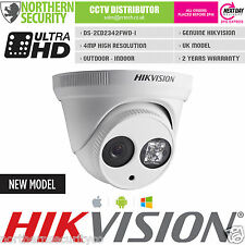 HIKVISION DS-2CD2342WD-I 4MM 4MP 2MP 1080P Turret EXIR IR WDR ONVIF IP Camera