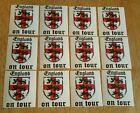 England On Tour - Football Sticker Set - Hooligan Casual - Three Lions Crest