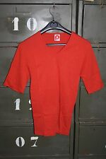 Sous Vêtement - Tee Shirt Homme Polichinelle coton rouge Taille 1 Vintage neuf