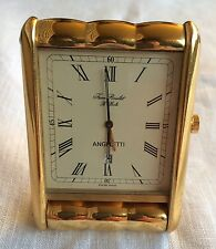 Jean Roulet Angeletti Orologio Sveglia da Viaggio Made in Swiss Travel Clock