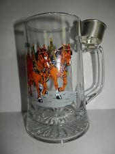 "GERMAN BEER STEIN- MUG-TANKARD~WITH SHOT GLASS HOLDER ""ORIGINAL BIERZUG"""