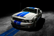 2008 FORD MUSTANG SHELBY GT500KR COBRA CAR POSTER STYLE A 24x36 HI RES