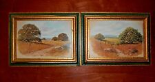 """Lot of 2 Wm Blackmon 5""""x7"""" Pictures of Outdoor Plains"""