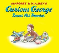 Curious George Saves His Pennies - New - Rey, H. A. - Hardcover