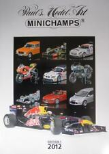 MINICHAMPS CATALOGUE 2012 EDITION 1 BIKES 1:6 1:12 1:18 CARS 1:18 1:43