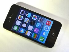 FAULTY Apple iPhone 4 - 8GB - Black (EE) Smartphone *CRACKED*