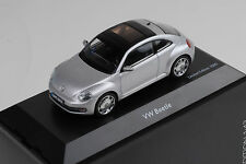 VW New Beetle 2011 silver metallic 1:43 Schuco