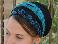 Unique handmade Mitpachat Head Covering, Scarf,Fashionable&ComfortableTichel