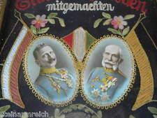 WW1 WELTKRIEG ERINNERUNG 1915 Kaiser Wilhelm Franz Joseph Wien Reservistenbild
