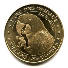 01 VILLARS-LES-DOMBES Parc des Oiseaux, Ara, 2005, Monnaie de Paris