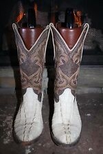 Exotic Mexican Crocodile Alligator Cowboy Boots Mens 6 B
