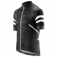 Skins Cycle Men's Gottardo Short-sleeve Jersey Black/White XL