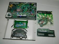 Pokemon Emerald Version  (Nintendo Game Boy Advance) GBA Japan *COMPLETE IN BOX*