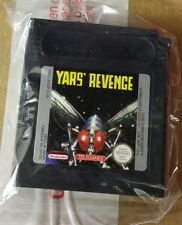 YARS REVENGE FOR GAMEBOY COLOR NEVER USED CARTRIDGE ONLY IN PLASTIC BAG