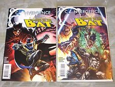 CONVERGENCE SHADOW OF THE BATMAN#1 & 2 SET! DC NEW 52 JUSTICE LEAGUE! WETWORKS!