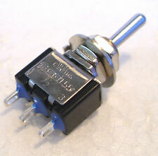 2K280 1 x Mini Toggle SPDT (on) Off (on) Biased Peco Point Motor Switch 1st Post