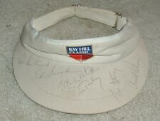 Arnold Palmer, Tom Watson, Ed Sneed, Pooley Bay Hill Classic Autograped Cap