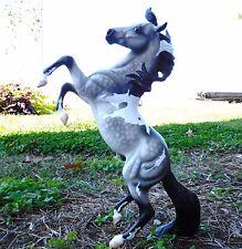 Breyer Artist OOAK Custom CM Horse~Lone Ranger SILVER~Dapple Pinto~once LSQ~vtg