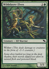 MTG 4x WILDSLAYER ELVES ASSASSINI SELVAGGI ELFICI