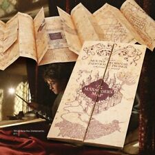 Official Harry Potter - Marauders Map, Authentic Replica on parchment paper