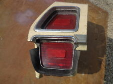 1972 Oldsmobile Delta 88 Left Hand Tail Light Housing Quarter Extension Donk