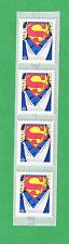 2013 CANADA  SUPERMAN - 75TH ANNIVERSARY STRIP OF 4 STAMPS CANADIAN