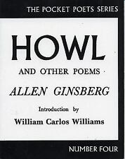 City Lights Pocket Poets: Howl and Other Poems No. 4 by Allen Ginsberg (2001, Pa