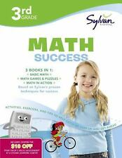 Third Grade Super Math Success by Sylvan Learning Staff (2010, Paperback)