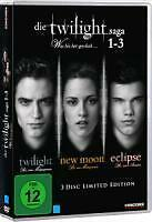 Die Twilight Saga 1-3 - was Bis(s)her Geschah - Limited-Edition DVDNeu in OVP
