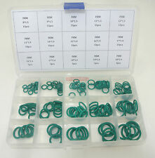 FKM Oil Seal O-Ring gasket assorted Kit 15Values 150pcs