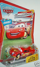 DISNEY PIXAR WORLD OF CARS ROR IMPOUND LIGHTNING McQUEEN CONFETTI CHASE CAR RARE