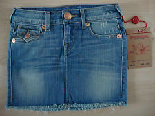 True Religion Jeans Girls laylaa Cut Ragazza Gonna Jeans TG 7 NUOVO con etichetta
