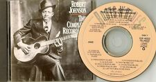 "Robert Johnson    ""The Complete Recordings""      90 CBS US CD"