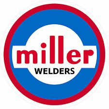 MILLER WELDER 1960 DECAL STICKER - SET OF 2