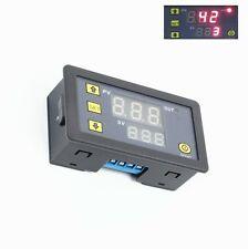 12V Timing Delay Relay Module Cycle Timer Digital LED Dual Display 0-999 hours C